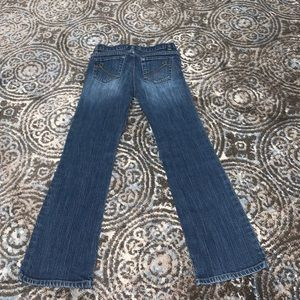 girls size 8 bootcut stretch children's place